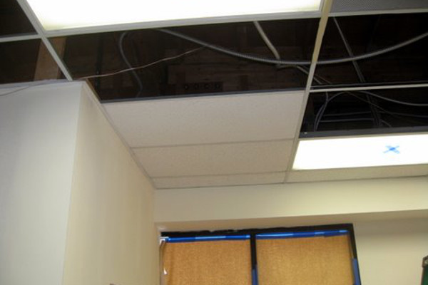 Vacant Cleanouts - Ceiling Tile Repair - Touch Up Painting